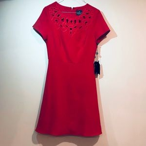 Adrianna Papell Red Dress -NWT